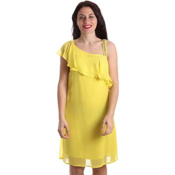 Odjeća Žene  Kratke haljine Gaudi 911FD15011 Žuta boja