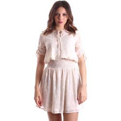 Odjeća Žene  Kratke haljine Gaudi 911BD15006 Bež