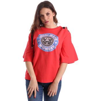 Odjeća Žene  Majice kratkih rukava Gaudi 911BD64037 Crvena