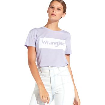 Odjeća Žene  Majice kratkih rukava Wrangler W7016D Ljubičasta