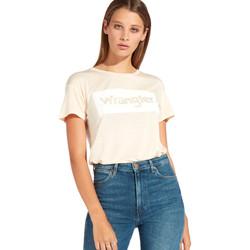 Odjeća Žene  Majice kratkih rukava Wrangler W7016D Naranča
