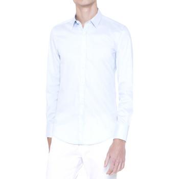 Odjeća Muškarci  Košulje dugih rukava Antony Morato MMSL00375 FA450001 Plava
