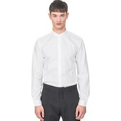 Odjeća Muškarci  Košulje dugih rukava Antony Morato MMSL00604 FA440031 Bijela