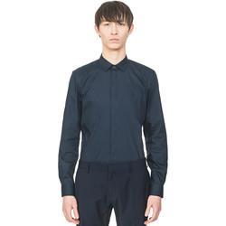 Odjeća Muškarci  Košulje dugih rukava Antony Morato MMSL00293 FA450001 Plava