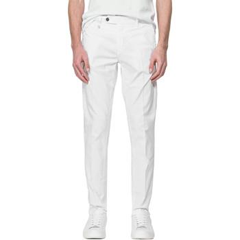 Odjeća Muškarci  Chino hlačei hlače mrkva kroja Antony Morato MMTR00496 FA800129 Bijela