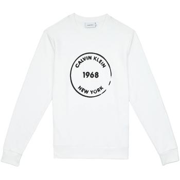 Odjeća Muškarci  Sportske majice Calvin Klein Jeans K10K104548 Bijela