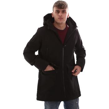 Odjeća Muškarci  Kaputi U.S Polo Assn. 52336 52251 Crno