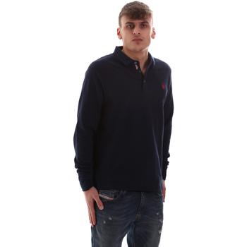 Odjeća Muškarci  Polo majice dugih rukava U.S Polo Assn. 52415 47773 Plava
