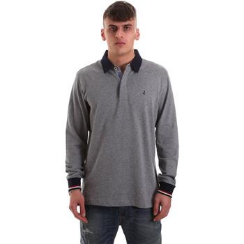 Odjeća Muškarci  Polo majice dugih rukava Navigare NV32023 Siva