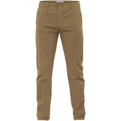 Odjeća Muškarci  Chino hlačei hlače mrkva kroja Navigare NV53079 Smeđa
