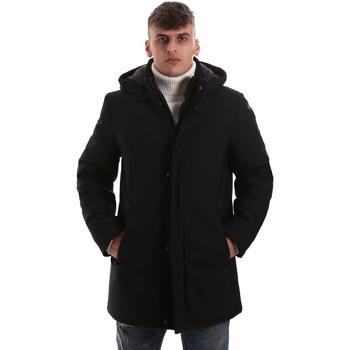 Odjeća Muškarci  Kaputi Navigare NV68081 Crno