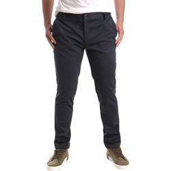 Odjeća Muškarci  Chino hlačei hlače mrkva kroja Gaudi 921FU24001 Crno