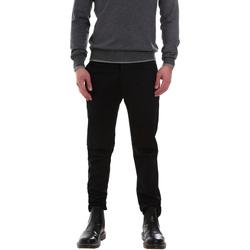 Odjeća Muškarci  Chino hlačei hlače mrkva kroja Gaudi 921FU24002 Crno