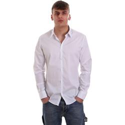 Odjeća Muškarci  Košulje dugih rukava Gaudi 921FU45014 Bijela