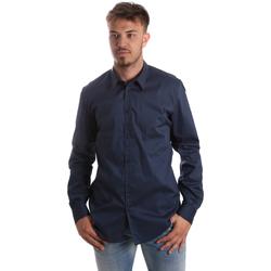 Odjeća Muškarci  Košulje dugih rukava Gaudi 921FU45014 Plava