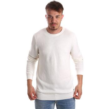 Odjeća Muškarci  Puloveri Gaudi 921FU53020 Bijela