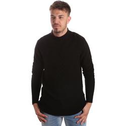 Odjeća Muškarci  Puloveri Gaudi 921FU53025 Crno