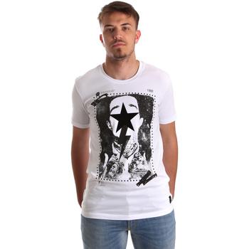 Odjeća Muškarci  Majice kratkih rukava Gaudi 921FU64002 Bijela