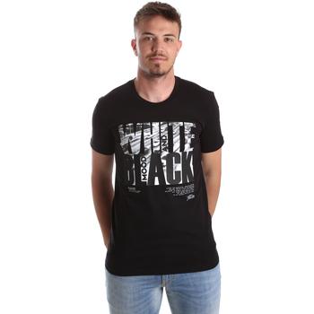 Odjeća Muškarci  Majice kratkih rukava Gaudi 921FU64006 Crno