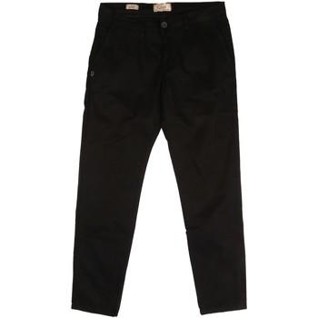 Odjeća Muškarci  Chino hlačei hlače mrkva kroja Gaudi 921BU25008 Crno