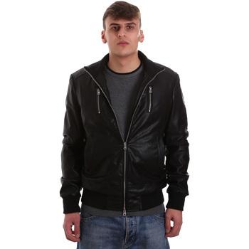 Odjeća Muškarci  Kožne i sintetičke jakne Gaudi 921BU38001 Crno