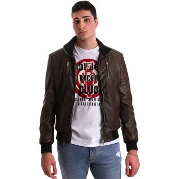 Odjeća Muškarci  Kožne i sintetičke jakne Gaudi 921BU38001 Smeđa