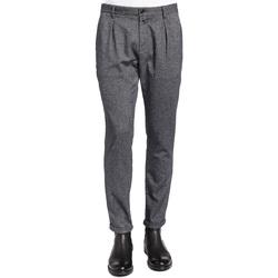 Odjeća Muškarci  Hlače od odijela Gaudi 921BU25018 Crno