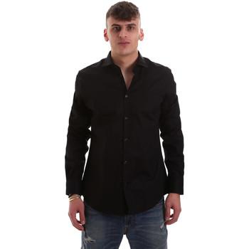 Odjeća Muškarci  Košulje dugih rukava Gaudi 921BU45001 Crno
