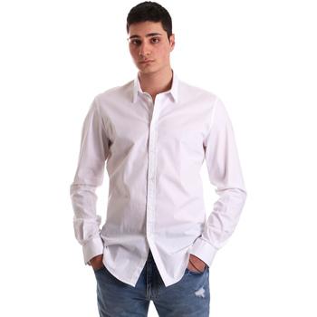 Odjeća Muškarci  Košulje dugih rukava Gaudi 921BU45001 Bijela