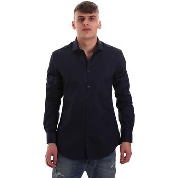Odjeća Muškarci  Košulje dugih rukava Gaudi 921BU45001 Plava