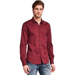 Odjeća Muškarci  Košulje dugih rukava Gaudi 921BU45008 Crvena