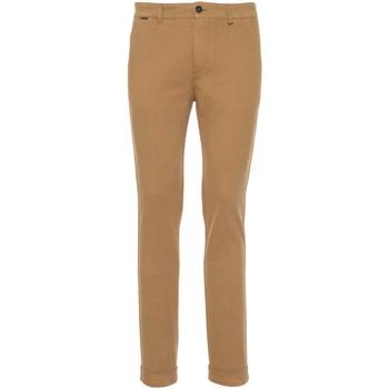 Odjeća Muškarci  Chino hlačei hlače mrkva kroja NeroGiardini A970550U Bež