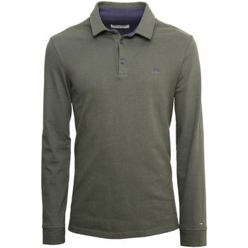 Odjeća Muškarci  Polo majice dugih rukava NeroGiardini A972290U Zelena
