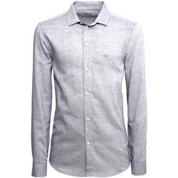 Odjeća Muškarci  Košulje dugih rukava NeroGiardini A973180U Plava