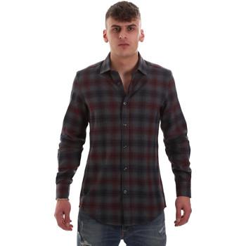 Odjeća Muškarci  Košulje dugih rukava Antony Morato MMSL00548 FA410091 Siva