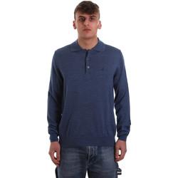 Odjeća Muškarci  Polo majice dugih rukava Navigare NV11006 40 Plava