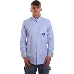 Odjeća Muškarci  Košulje dugih rukava Navigare NV91061 BD Plava