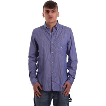Odjeća Muškarci  Košulje dugih rukava Navigare NV91068 BD Plava