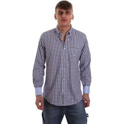 Odjeća Muškarci  Košulje dugih rukava Navigare NV91072 BD Plava