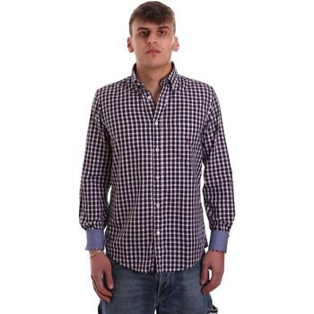 Odjeća Muškarci  Košulje dugih rukava Navigare NV91074 BD Crvena
