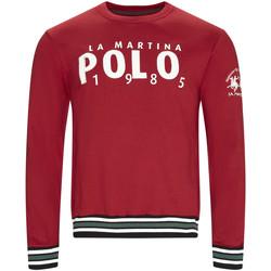 Odjeća Muškarci  Sportske majice La Martina OMF312 FP175 Crvena