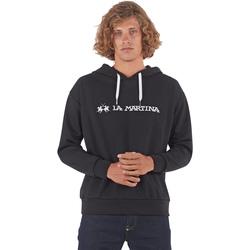 Odjeća Muškarci  Sportske majice La Martina OMF003 FP077 Crno