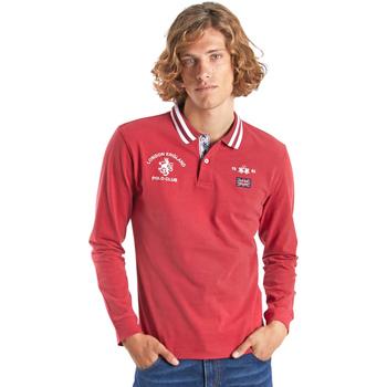 Odjeća Muškarci  Polo majice dugih rukava La Martina OMP325 JS005 Crvena