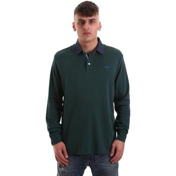Odjeća Muškarci  Polo majice dugih rukava La Martina OMP007 JS169 Zelena