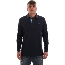 Odjeća Muškarci  Polo majice dugih rukava La Martina OMP007 JS169 Plava