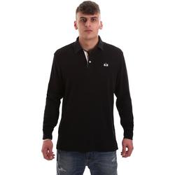 Odjeća Muškarci  Polo majice dugih rukava La Martina OMP007 JS169 Crno