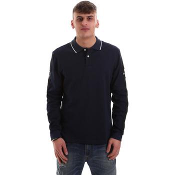 Odjeća Muškarci  Polo majice dugih rukava La Martina OMPM36 JS169 Plava
