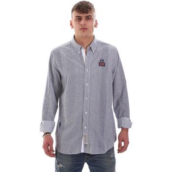 Odjeća Muškarci  Košulje dugih rukava La Martina OMC021 PP472 Bijela