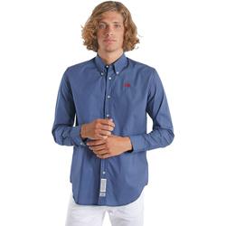 Odjeća Muškarci  Košulje dugih rukava La Martina OMC015 PP461 Plava