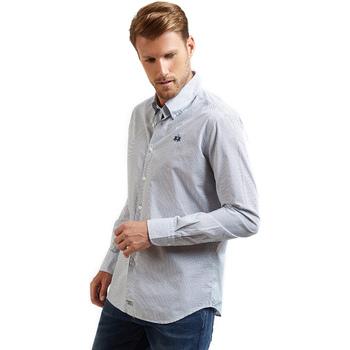 Odjeća Muškarci  Košulje dugih rukava La Martina OMC016 PP462 Plava